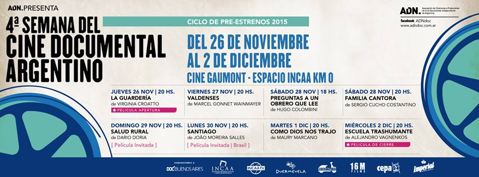 4º Semana del Cine Documental Argentino