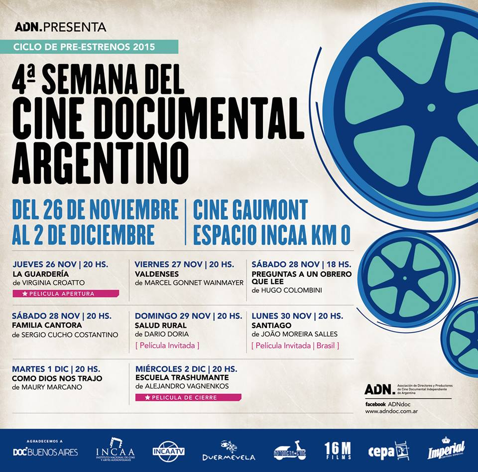 IV SEMANA DEL CINE DOCUMENTAL ARGENTINO