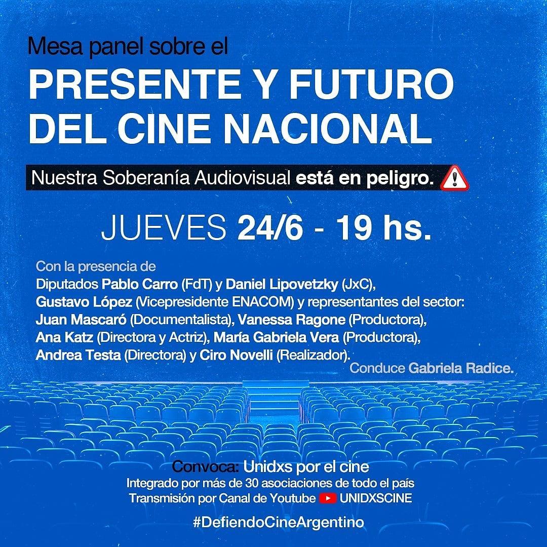 PRESENTE Y FUTURO DEL CINE. NUESTRA SOBERANÍA AUDIOVISUAL