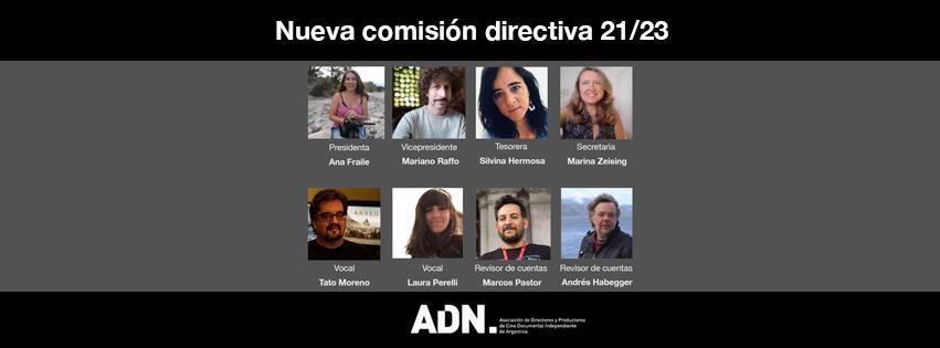 Nueva comisión de ADN 21/23